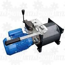 1KM 0,75kW Agregat hydrauliczny 230V z pompą ręczną
