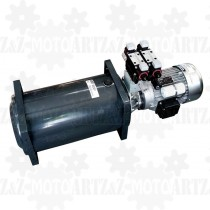 3KM 2,2kW Zasilacz hydrauliczny 230V z rozdzielaczem dwusekcyjnym i regulacją prędkości