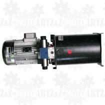 2KM 1,5kW Zasilacz hydrauliczny trójfazowy 400V 10L do siłowników dwukierunkowych