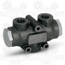 Dzielnik strumienia 50/50 40l/min V-EQ25