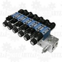 Rozdzielacz 6x CETOP 3 24V (6 SEKCJI NG6)