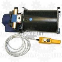 Elektryczna pompa do hydrauliki 24V - 2 funkcyjna (1 siłownik dwukierunkowy)