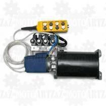 Elektryczna pompa do hydrauliki 24V - 8 funkcyjna (4 siłowniki dwukierunkowe)