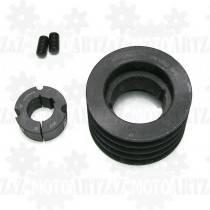 Koło pasowe 4x125mm do pompy próżniowej, kompresora