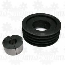 Koło pasowe 4x224mm do pompy próżniowej, kompresora