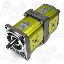 Pompa hydrauliczna do pługa dwusekcyjna 17+11 cm3