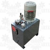 4kW Zasilacz hydrauliczny ze zbiornikiem na siłę z rozdzielaczem ręcznym