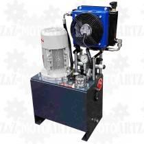 Zasilacz hydrauliczny 400V 4kW z chłodnicą do pracy ciągłej