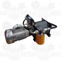 2KM 1,5kW Agregat hydrauliczny 400V zasilacz z rozdzielaczem proporcjonalnym dwukierunkowym