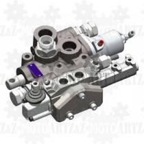 Zawór hydrauliczny do sterowania WYWROTU i HYDROBURTY 250/60 (wywrot + 1 hydroburta) osobna regulacja ciśnienia