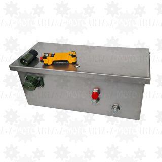 Zasilacz hydrauliczny do wywrotu naczepy, kontenerów POWER UNIT 2 prędkości 4,5kW radio 100m do siłowników hyva binotto 24v