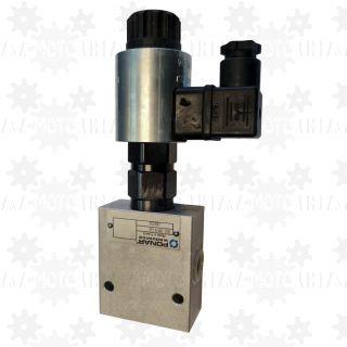 Regulator przepływu dzielnik strumienia oleju hydraulicznego 3 drogowy WDUD 15L 24VDC do silnika siłownika prędkości