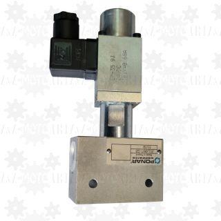 Elektrozawór przelewowy proporcjonalny elektryczny regulator ciśnienia oleju hydraulicznego WZPSE6 60L  350bar 24VDC
