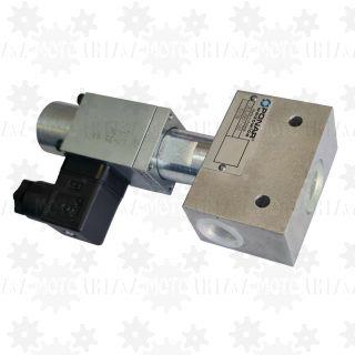 Elektrozawór przelewowy proporcjonalny elektryczny regulator ciśnienia oleju hydraulicznego WZPSE6 60L  200bar 24VDC