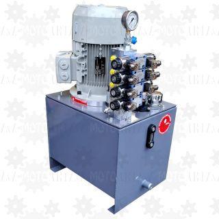Zasilacz hydrauliczny z elektryczną regulacją przepływu 0-10V 4-20mA stacja hydrauliczna proporcjonalny regulowany przepływ PONAR