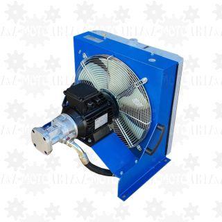 Chłodnica przemysłowa duża oleju hydraulicznego z pompą obiegową 40l/min: SIL 55