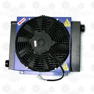 Chłodnica oleju hydraulicznego HY 2404 (z termostatem) 24V, 150l/min, 210-290W/stC
