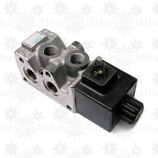 Dzielnik strumienia 6-2 elektryczny 90l/min elektrozawór przełączający 24v odbiorniki
