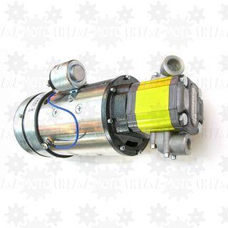 Pompa elektryczna 24V do naczepy  ponadgabarytowej tiefbet łabędzia szyja 250 bar