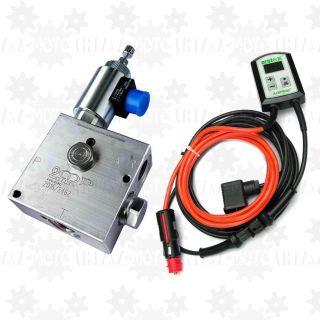 Proporcjonalny regulator przepływu oleju 12v elektrozawór obrotów silnika hydraulicznego