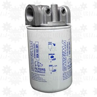 Filtr powrotny oleju hydraulicznego 60 l/min
