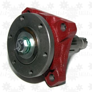 Adapter przystawki PTO, flansza pod wał kardana UNI fi=100mm frez zewn. (8x32x35) do przystawki