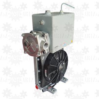 Chłodnica oleju hydraulicznego 24V ze zbiornikiem, wymiennik ciepła betonomieszarki