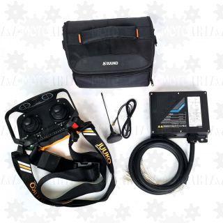 Sterowanie radiowe proporcjonalne JUUKO HSV-M z dwoma joystickami krzyżowymi PWM do HDS dźwigu podnośnika koszowego