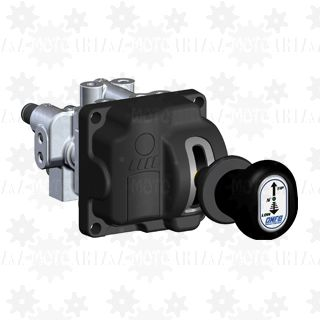 Sterowanie pneumatyczne WĄSKIE do hydrauliki: WYWROT