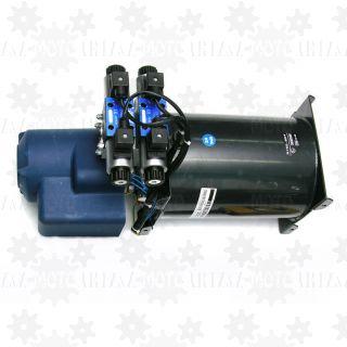 Elektryczna pompa do hydrauliki 24V - 4 funkcyjna (2 siłowniki dwukierunkowe)