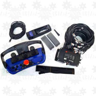 Sterowanie radiowe na joystickach SCANRECO RC400 do żurawia HDS leśnego joystickami