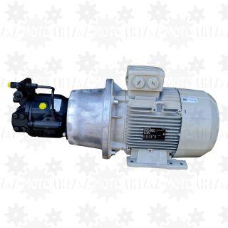 Silnik elektryczny z pompą hydrauliczną tłoczkową o zmiennym wydatku LS elektropompa zasilacz pompa