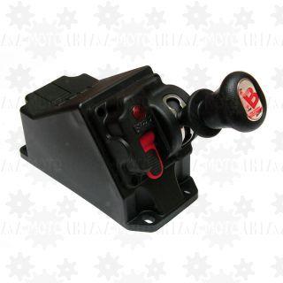 Sterowanie pneumatyczne WĄSKIE do hydrauliki w OBUDOWIE - WYWROT + PRZYSTAWKA automat