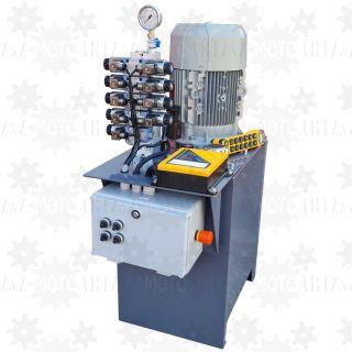 Zasilacz hydrauliczny z proporcjonalnym regulatorem przepływu PONAR sterowana radiowo
