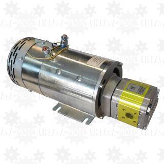 ELEKTROPOMPA 24V pompa hydrauliczna z silnikiem 4,5kW do naczepy niskopodwoziowej gabarytowej wywrotki
