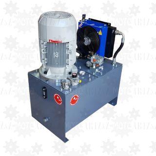 11kW Zasilacz hydrauliczny 400V z chłodnicą i pompa obiegową