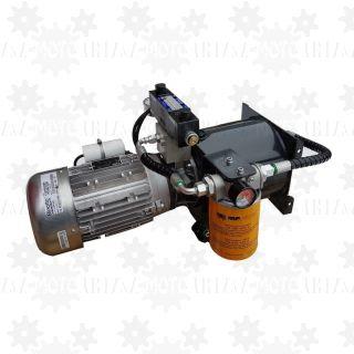2KM 1,5kW Agregat hydrauliczny 230V zasilacz z rozdzielaczem proporcjonalnym dwukierunkowym
