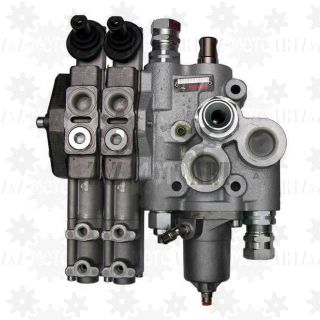 Zawór hydrauliczny do sterowania WYWROTU i HYDROBURTY 250/60 (wywrot + 2 hydroburty)