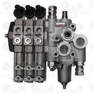 Zawór hydrauliczny do sterowania WYWROTU i HYDROBURTY 250/60 (wywrot + 3 hydroburty)